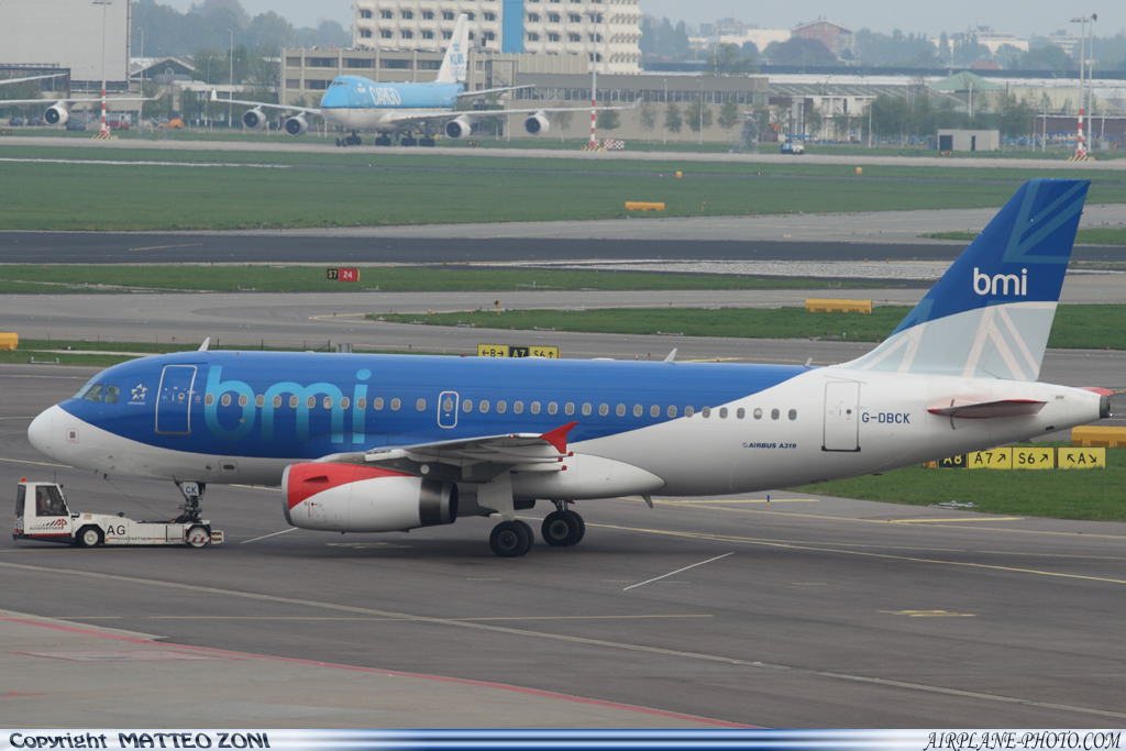 Photo BMI British Midland Airbus A319-131