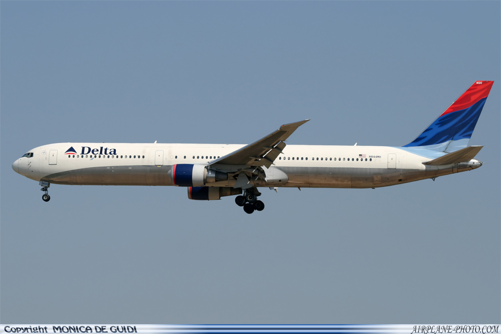 Photo Delta Air Lines Boeing 767-432/ER