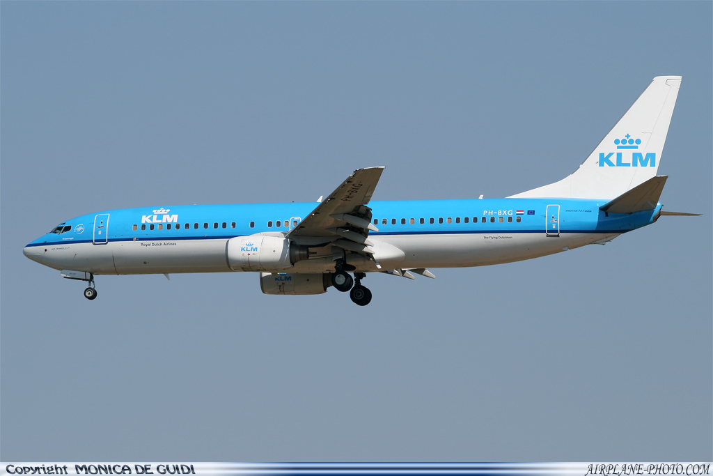 Photo KLM Royal Dutch Airlines Boeing 737-8K2