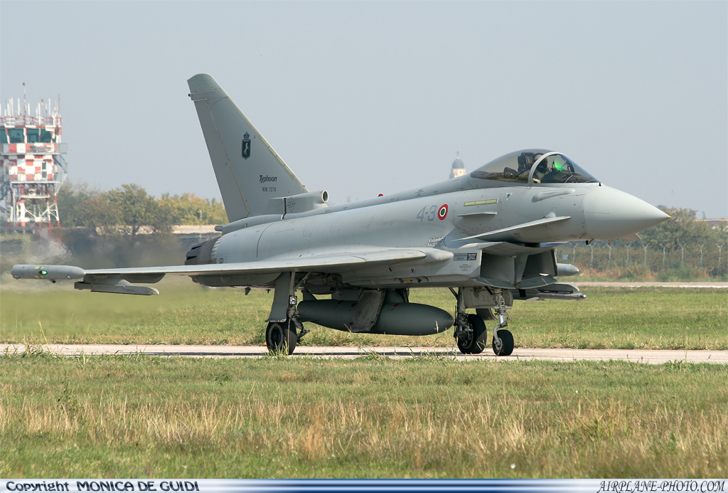 Photo Italy - Air Force Eurofighter Typhoon EF2000