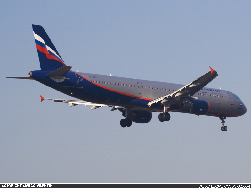Photo Aeroflot Russian Airlines Airbus A321-211