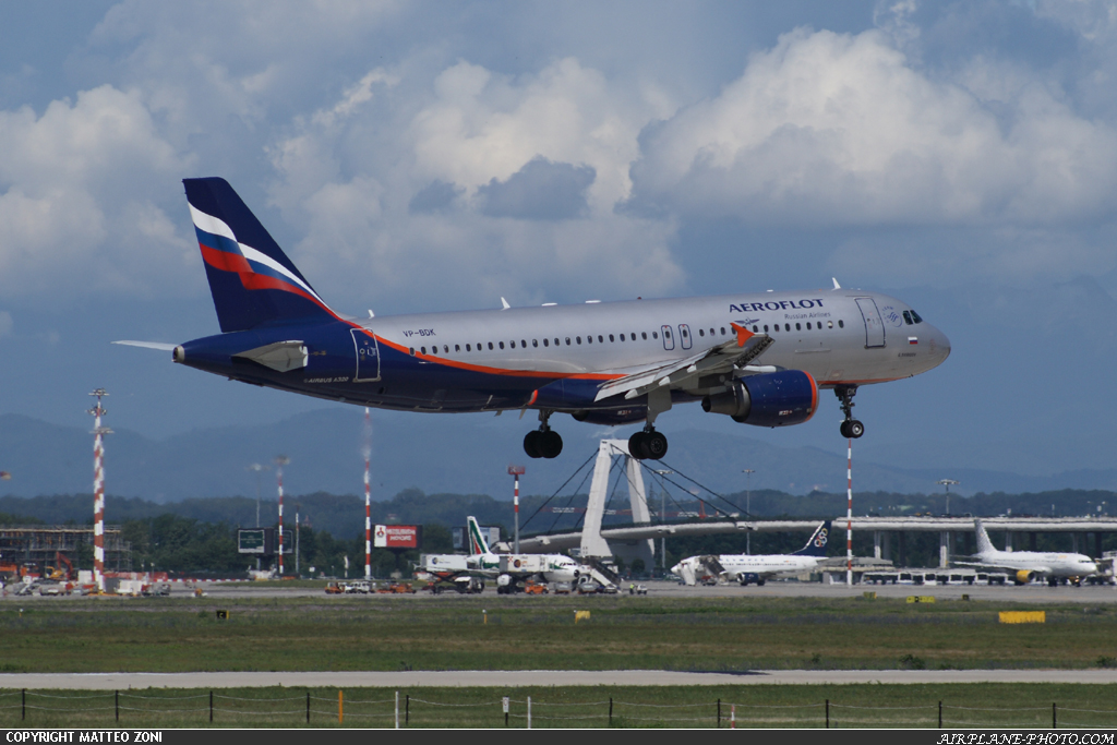 Aeroflot Russian Airlines. Photo Aeroflot Russian