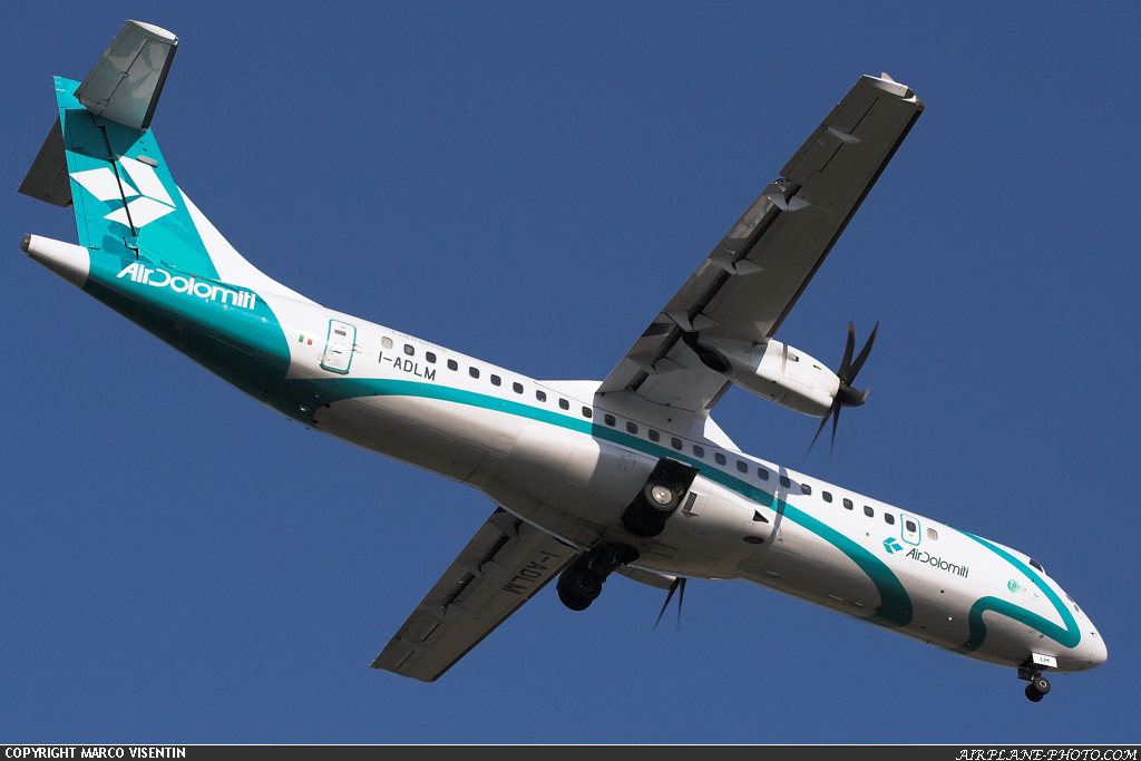 Photo Air Dolomiti ATR ATR-72-500