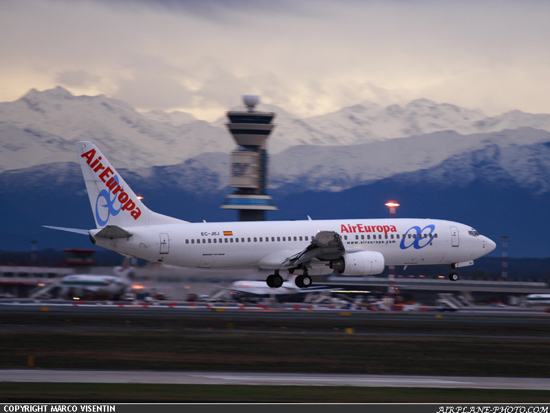 Photo Air Europa Boeing 737-85P