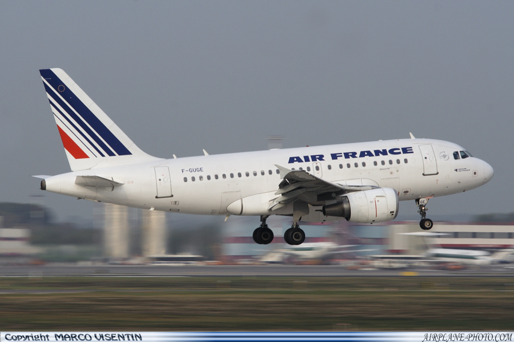 Photo Air France Airbus A318-111