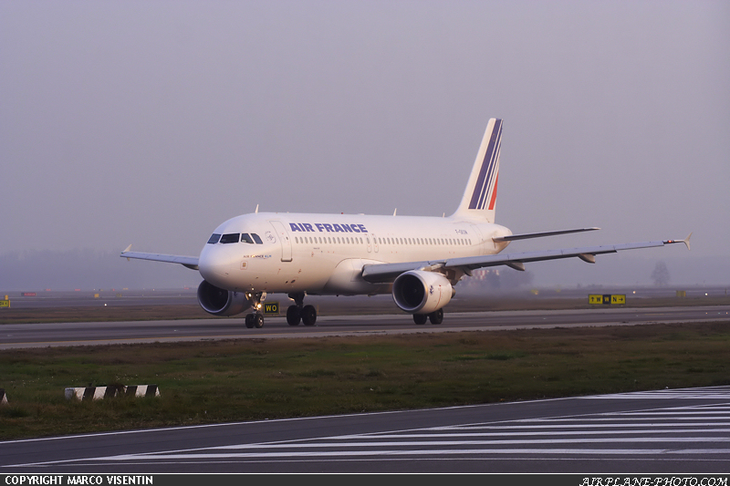 Photo Air France Airbus A320-214