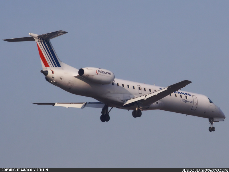 Photo Air France (Regional Airlines) Embraer EMB-145EU