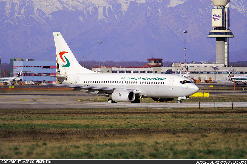 Photo Air Senegal International Boeing 737-200