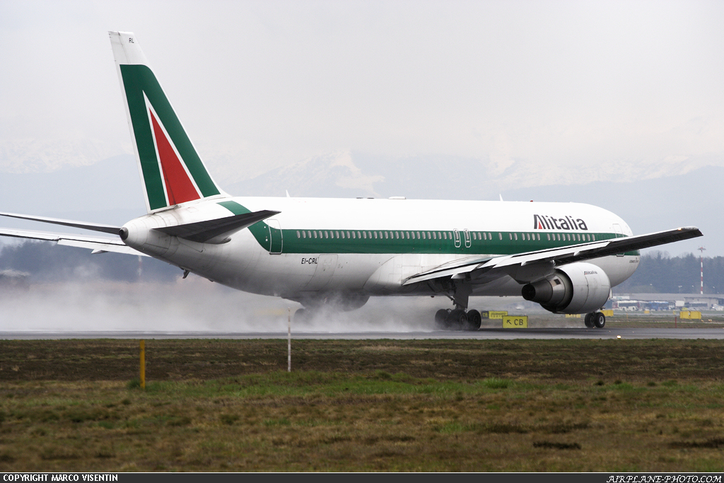 Photo Alitalia Boeing 767-343/ER
