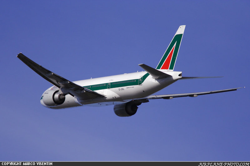 Photo Alitalia Boeing 777-243/ER