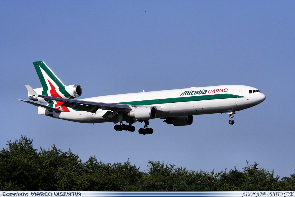 Photo Alitalia Cargo McDonnell Douglas MD-11F