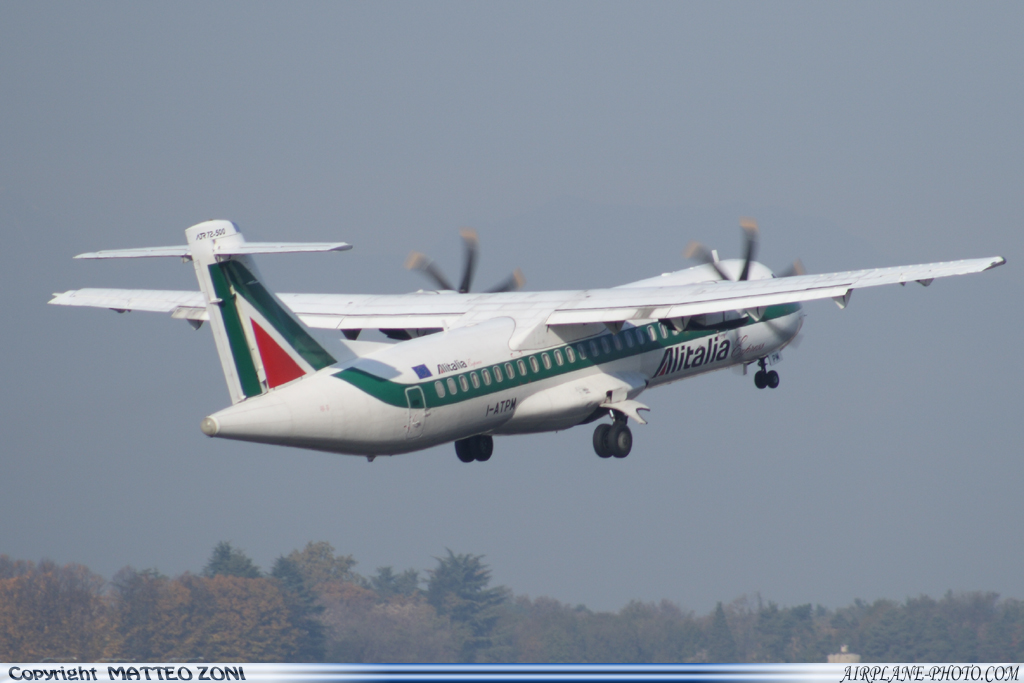 Photo Alitalia Express ATR ATR-72-500