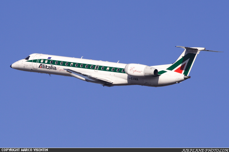 Photo Alitalia Express Embraer EMB-145LR