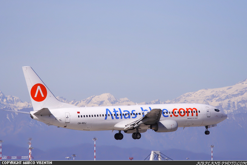 Photo Atlas Blue Boeing 737-85P