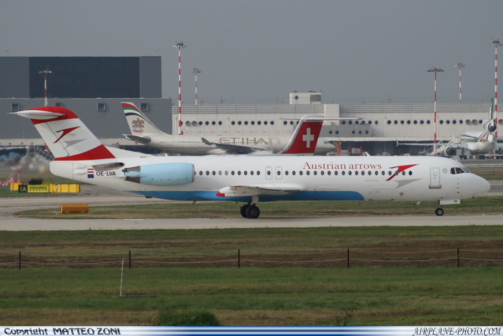 Photo Austrian Arrows Fokker 100
