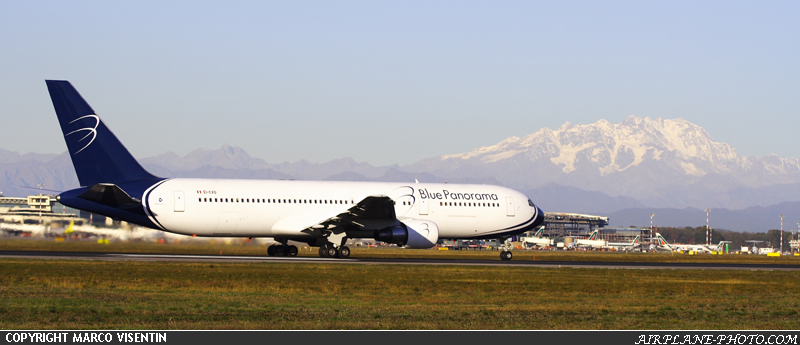 Photo Blue Panorama Airlines Boeing 767-3G5/ER