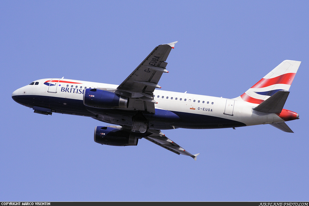 Photo British Airways Airbus A319-131
