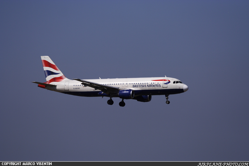 Photo British Airways Airbus A320-111