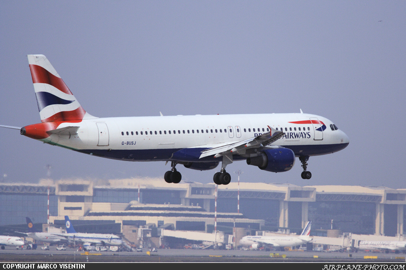 Photo British Airways Airbus A320-211