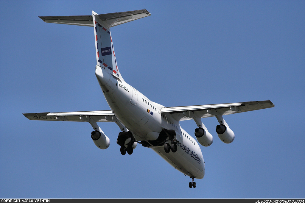 Photo Brussels Airlines BAE Systems Avro 146-RJ85