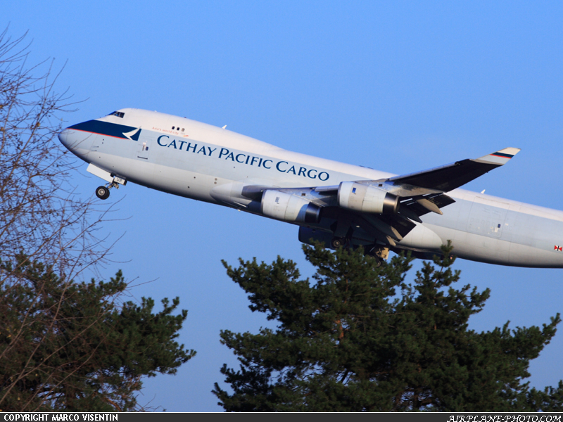 Photo Cathay Pacific Cargo Boeing 747-467F