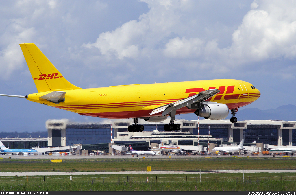 Photo DHL (European Air Transport - EAT) Airbus A300B4-203(F)