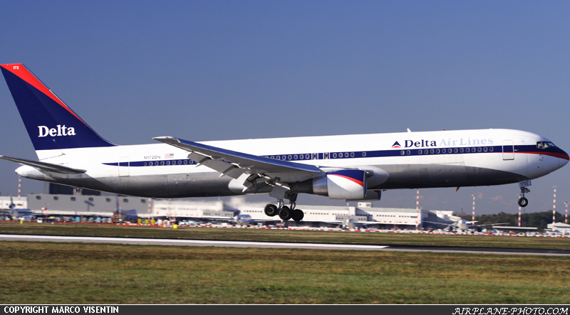 Photo Delta Air Lines Boeing 767-332/ER