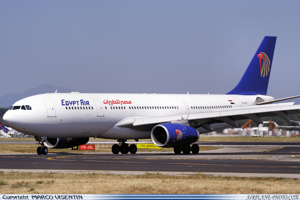 Photo Egypt Air Airbus A330-243