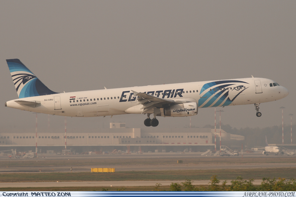 Photo Egypt Air Airbus A321-231