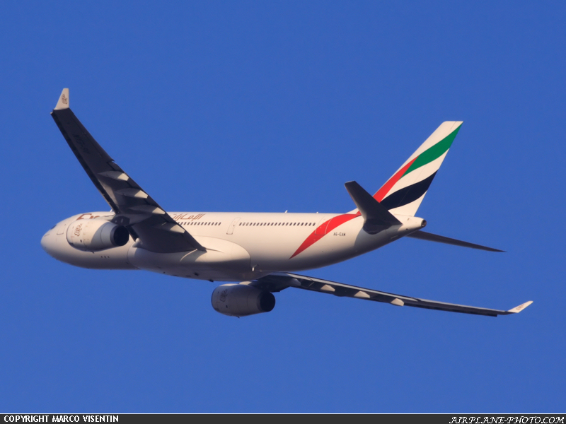 Photo Emirates Airbus A330-243
