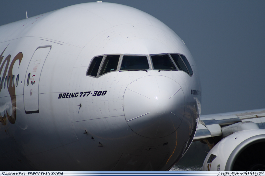 Photo Emirates Boeing 777-31H