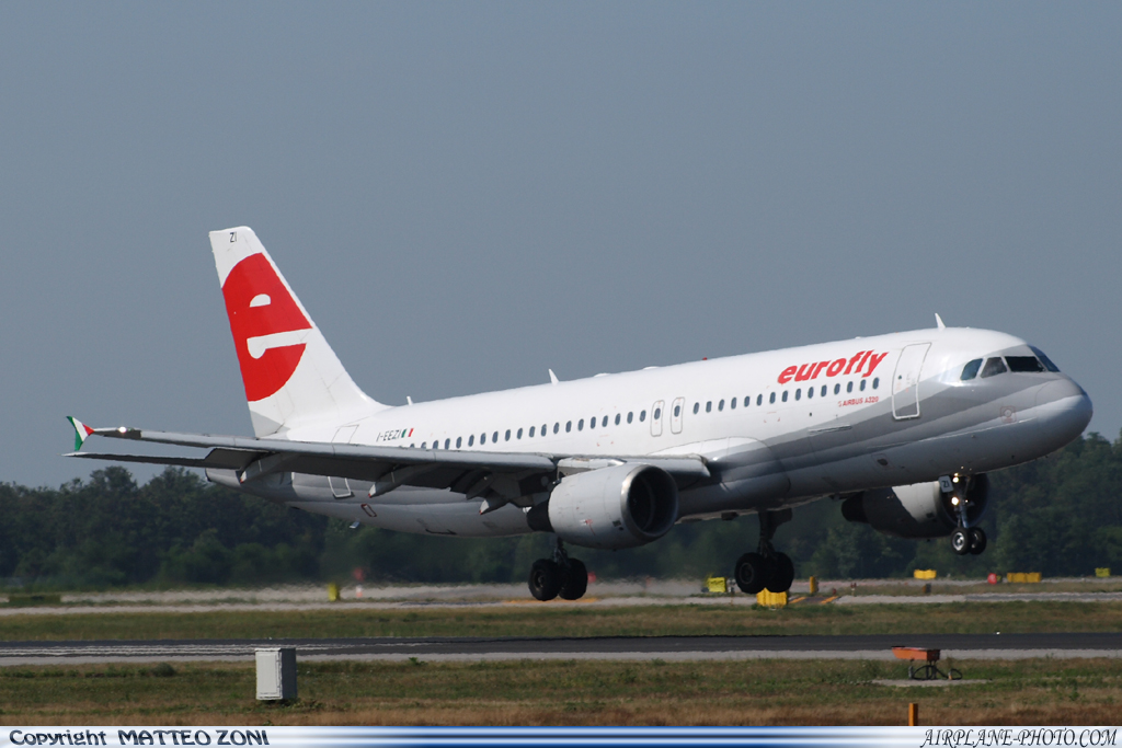 Photo Eurofly Airbus A320-214