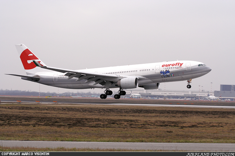 Photo Eurofly Airbus A330-223