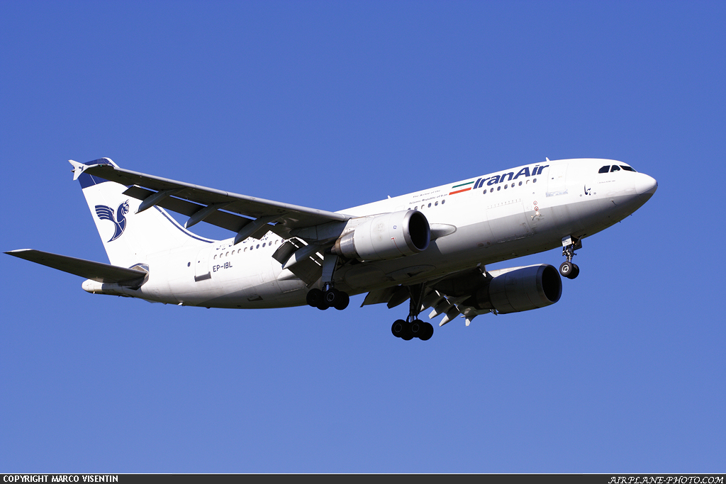 Photo Iran Air Airbus A310-304