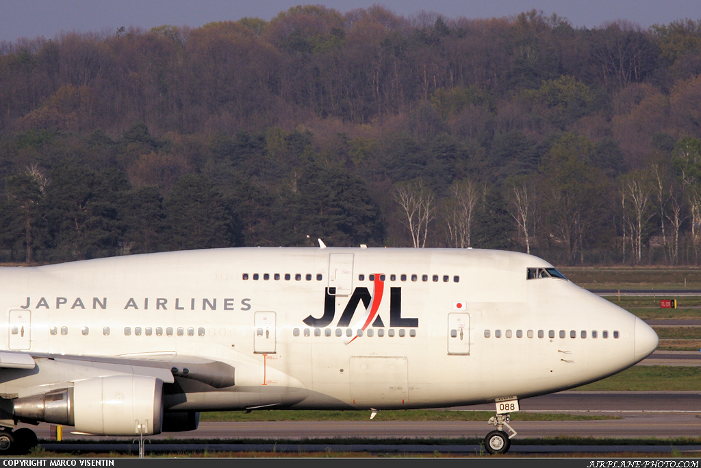 Photo Japan Airlines - JAL Boeing 747-446