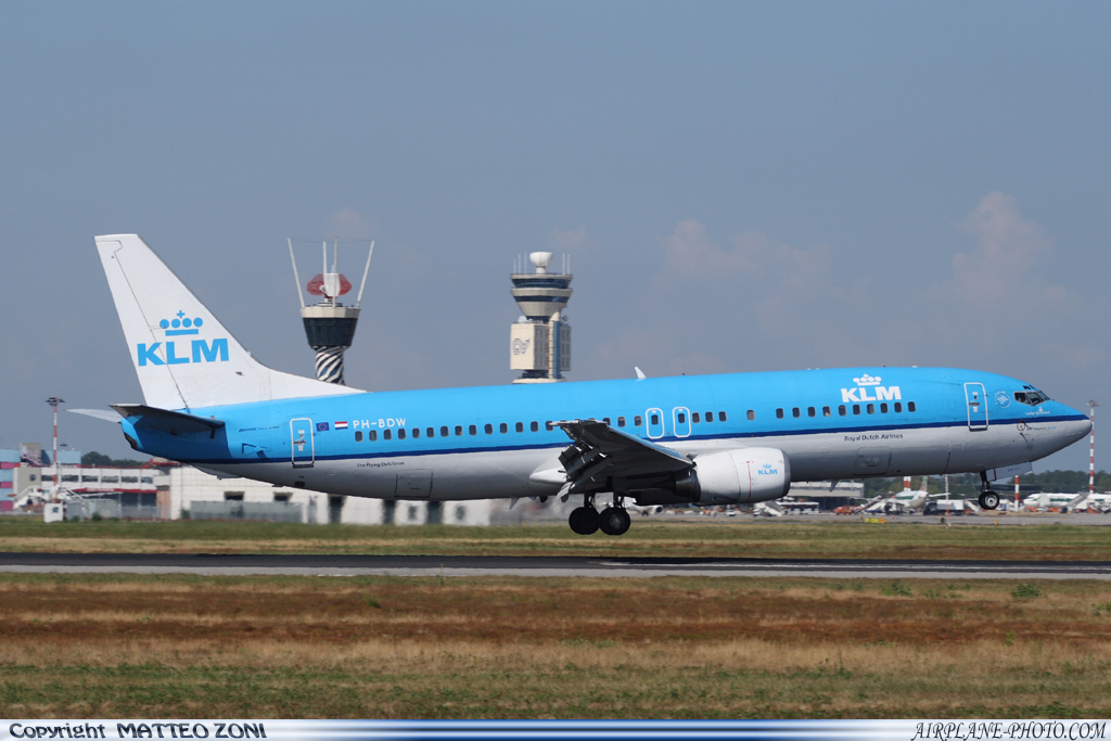 Photo KLM Royal Dutch Airlines Boeing 737-406