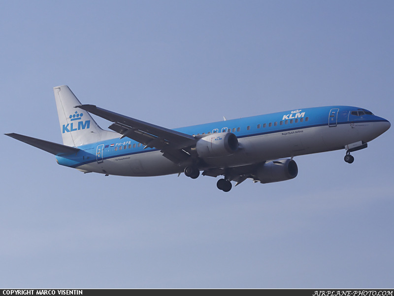 Photo KLM Royal Dutch Airlines Boeing 737-4Y0