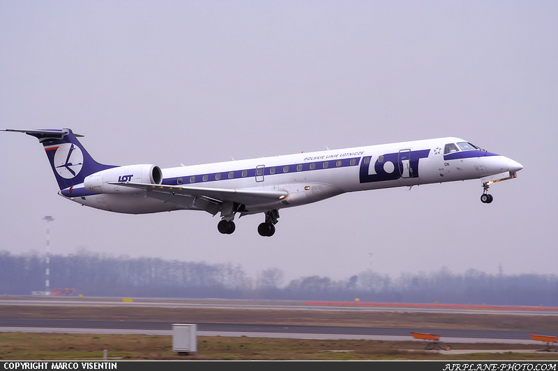 Photo LOT - Polish Airlines / Polskie Linie Lotnicze Embraer EMB-145MP
