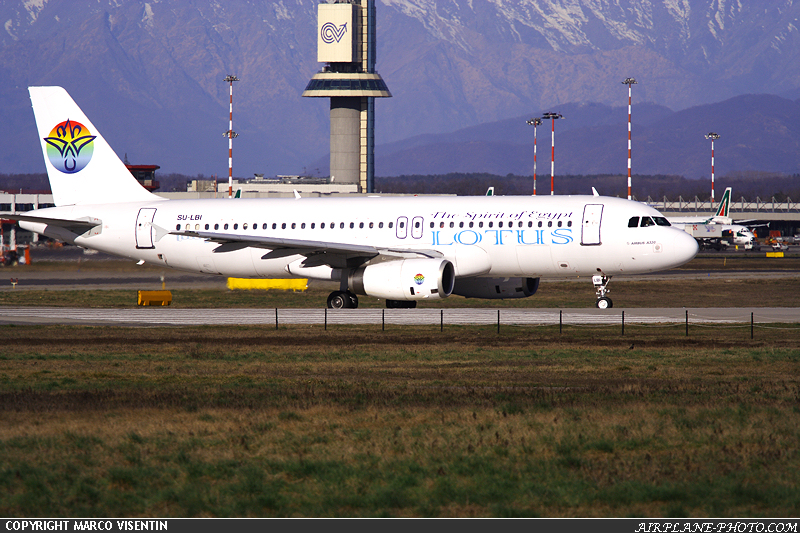 Photo Lotus Air Airbus A320-232
