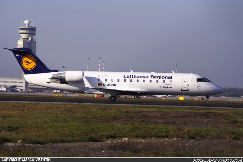 Photo Lufthansa Canadair CL-600-2B19