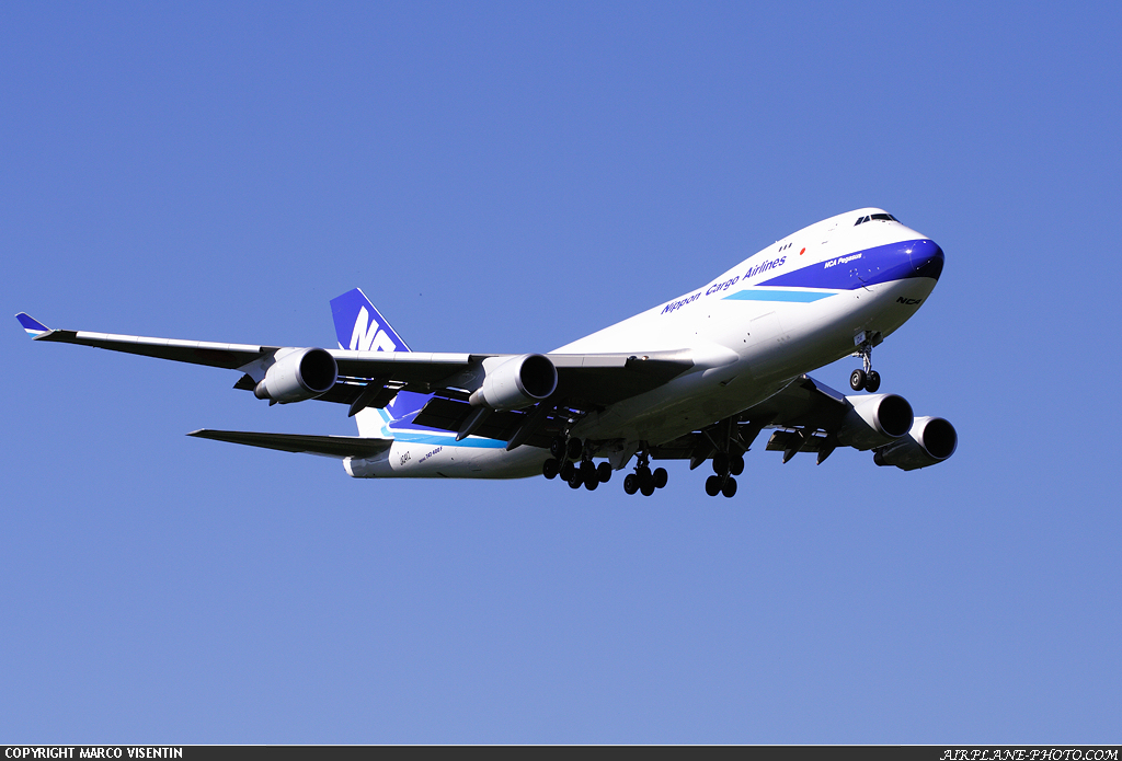 Photo Nippon Cargo Airlines - NCA Boeing 747-481F/SCD