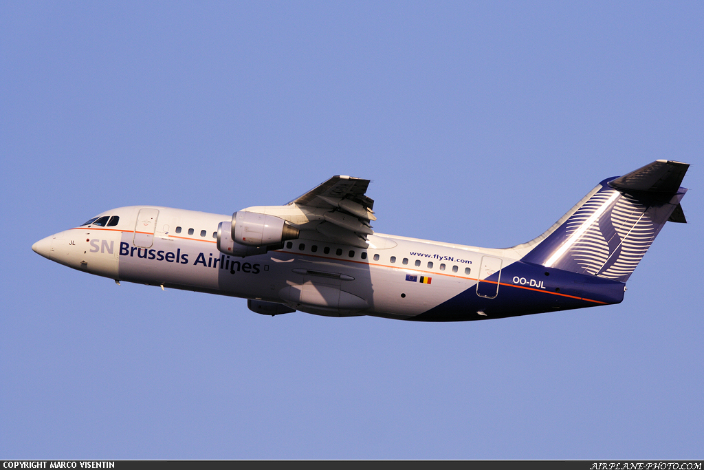 Photo SN Brussels Airlines BAE Systems Avro 146-RJ85