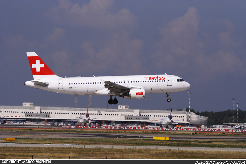 Photo Swiss International Air Lines Airbus A320-214