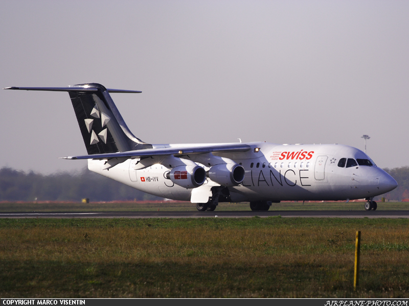 Photo Swiss International Air Lines BAE Systems Avro 146-RJ100