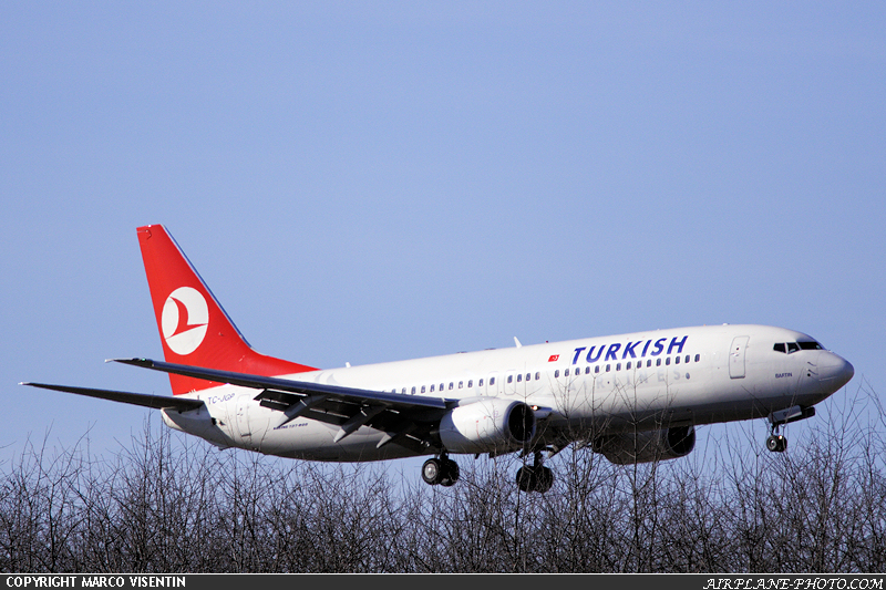 Photo Turkish Airlines Boeing 737-8F2