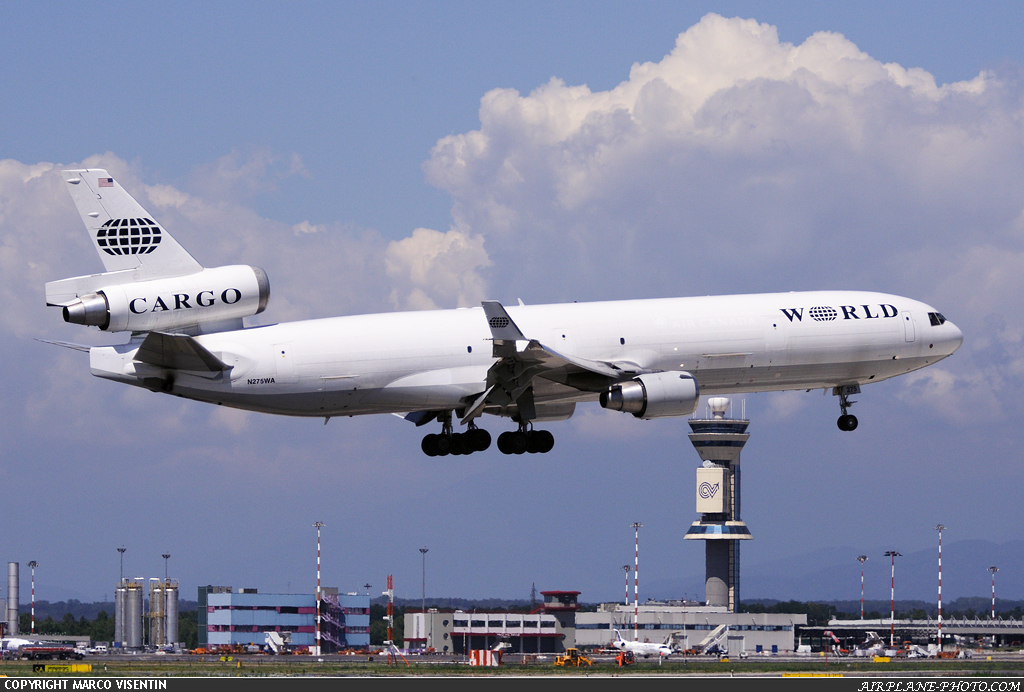 Photo World Airways Cargo McDonnell Douglas MD-11F