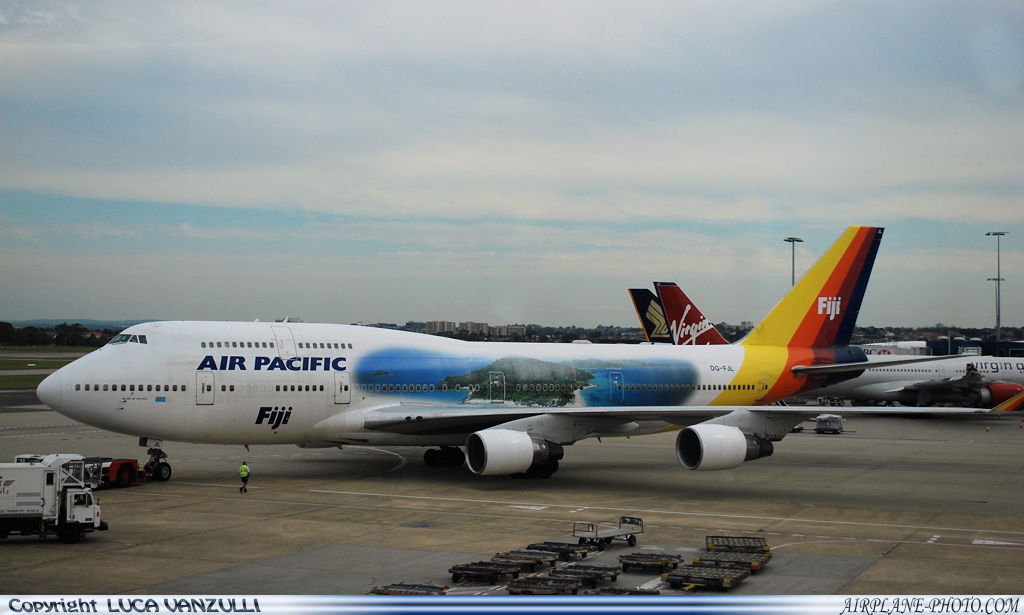 Photo Air Pacific Boeing 747-412