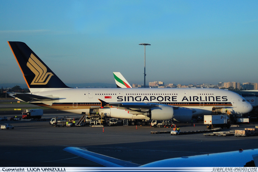 Photo Singapore Airlines Airbus A380-841