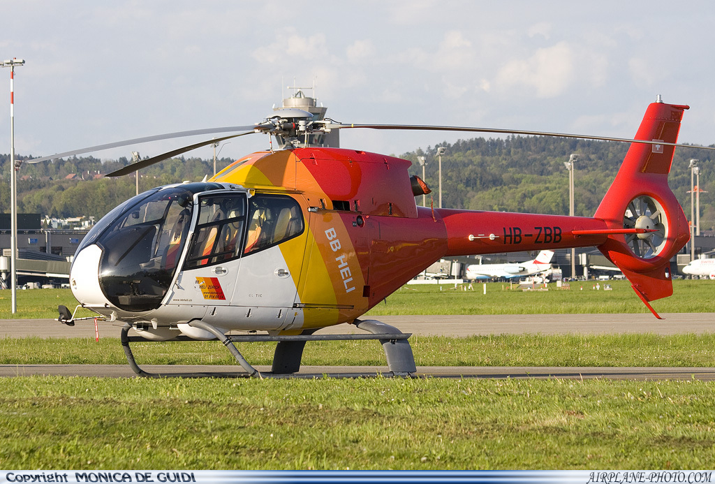 Photo Adria Airways Eurocopter EC-120B Colibri