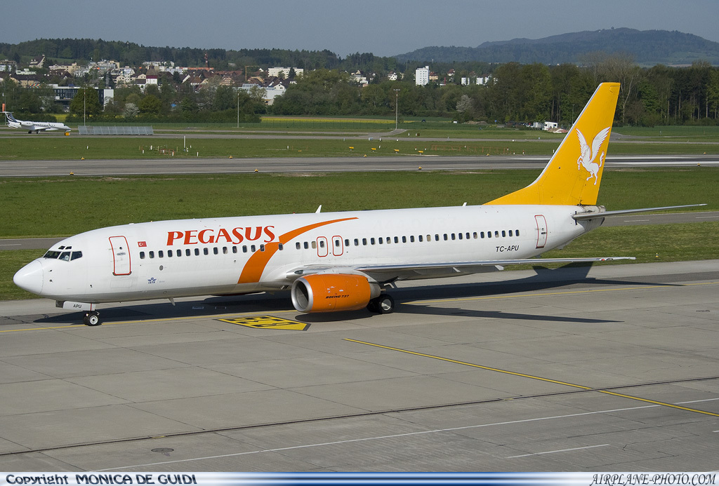 Airliners Net Photos Photo Pegasus Airlines Boeing